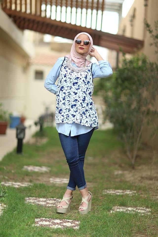 موضة لبس المحجبات 2016 (2)