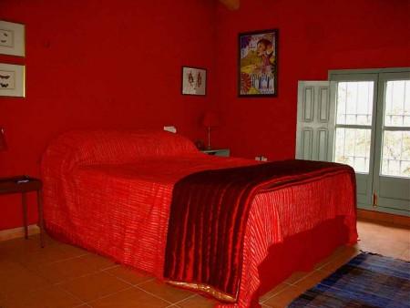 غرف نوم حمراء 2016