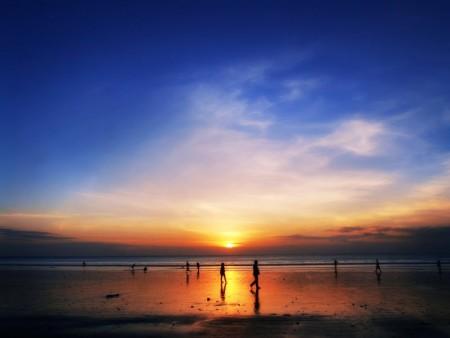 غروب الشمس علي البحر بالصور (6)