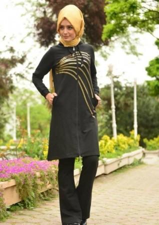 لبس محجبات 2016 جديد شيك موضة جميلة  (4)