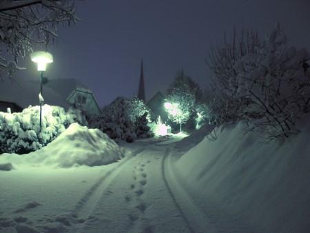 مناظر طبيعية عن الشتاء (2)
