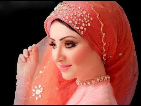احدث طرق ربطات حجاب  (2)
