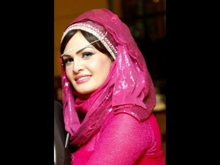احدث طرق ربطات حجاب  (3)
