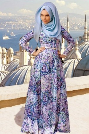 الوان جديدة لموضة ملابس المحجبات2016 (3)