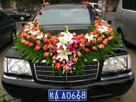 بالصور تزيين سيارات الاعراس  (3)