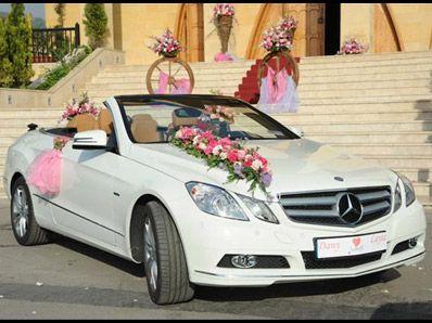 زينة سيارات الزفاف  (1)