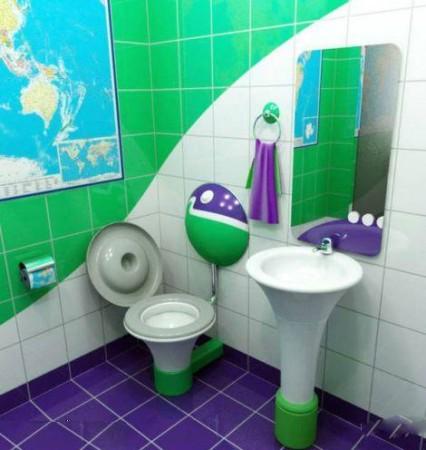 صور ديكورات حمامات صغيرة 2016 اطقم حمامات صغيرة (4)