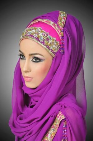 صور لفة الحجاب (4)