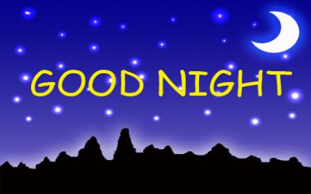 صور مكتوب عليها good night (1)