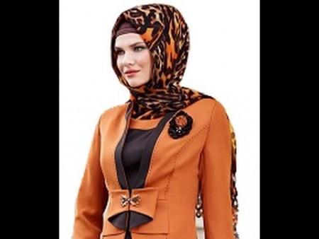 طرق لبس الحجاب  (1)