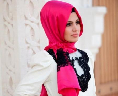 طرق لف الحجاب  (2)