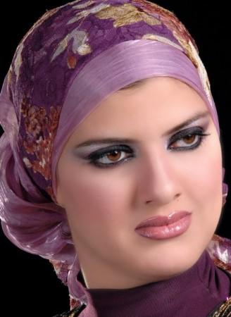 طريقة لف الحجاب (4)