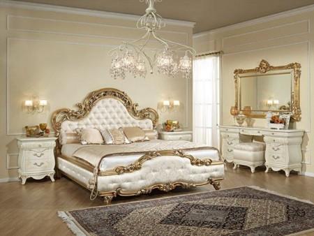 غرف نوم بالوان فخمة شيك جديدة مودرن (4)