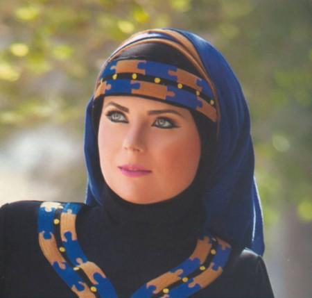 لفات حجاب جديدة بالصور والخطوات اجمل لفات الحجاب (2)