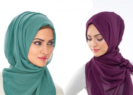 لفات حجاب جديدة بالصور والخطوات اجمل لفات الحجاب (3)