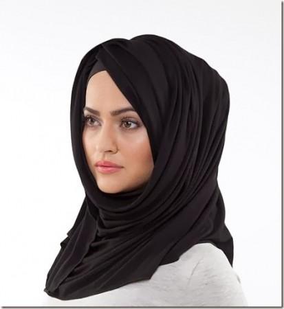 لفات حجاب حديثة (1)