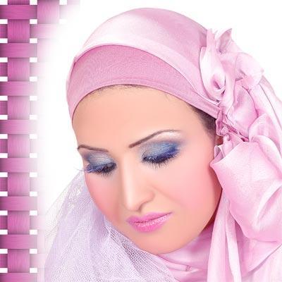 لف الحجاب بالصور (2)