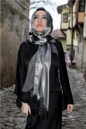 لف حجاب مناسبات (3)
