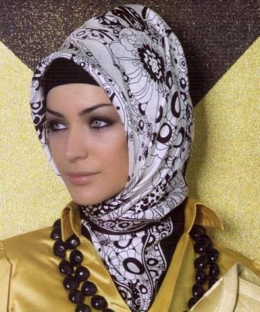 لف حجاب مناسبات (4)