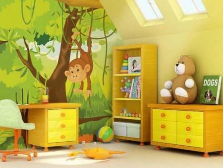 اشكال والوان ديكورات لغرف الاطفال (2)