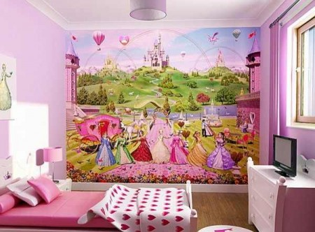 الوان غرف نوم اطفال2016 (1)