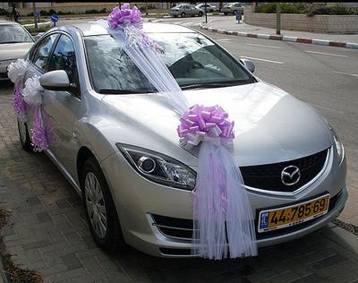 تزيين السيارة للعريس  (3)