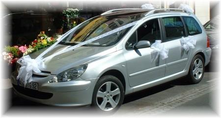 تزيين سيارات الاعراس بالصور  (1)