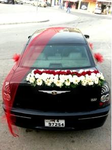 تزيين سيارة العريس في الفرح (4)