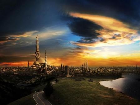 تصميم مسجد بالصور (3)
