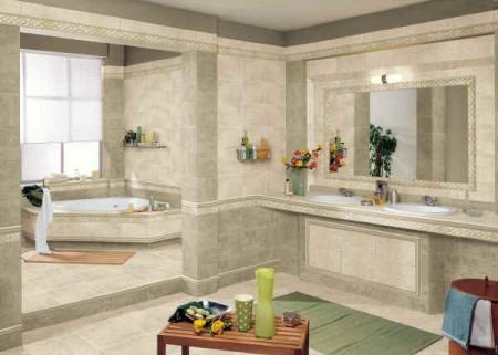 حمامات صغيرة بالصور بديكورات حمام مودرن (2)