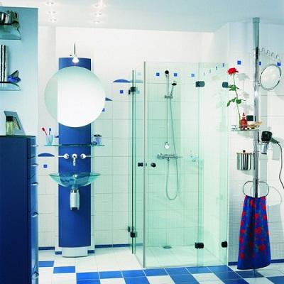 حمامات صغيرة بالصور بديكورات حمام مودرن (3)