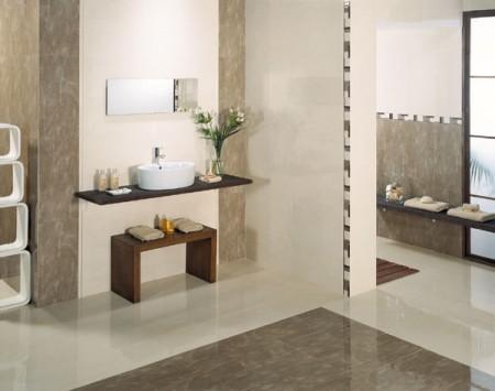 ديكورات حمامات مودرن جديدة صغيرة (2)