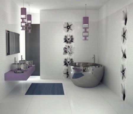 ديكورات حمامات مودرن جديدة صغيرة (3)