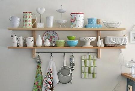 رفوف مطبخ جميلة (2)
