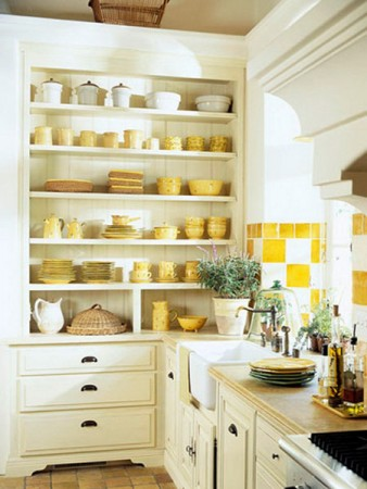 رفوف مطبخ جميلة (4)