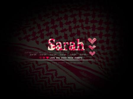 صور بنات بأسم سارة مكتوب (2)