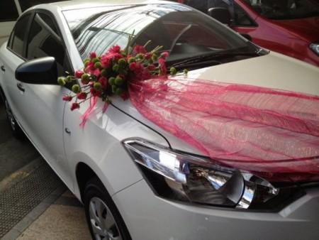 صور تزيين سيارة عروس  (1)