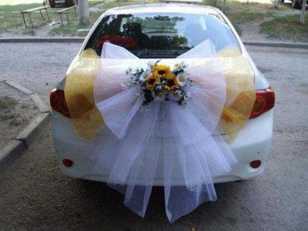صور تزيين سيارة عروس  (3)
