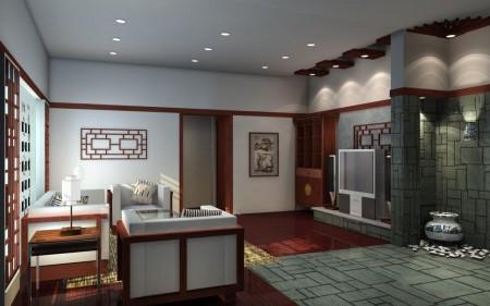غرف للمعيشة بديكورات شيك2016 (1)
