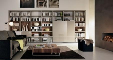 مكتبات شيك للكتب في المنزل (3)
