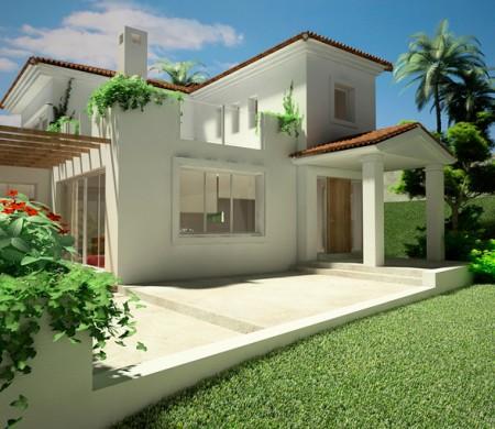 اجمل واجهات المنازل  (1)
