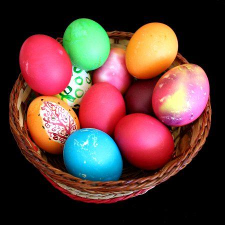 الوان بيض شم النسيم (2)