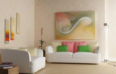 الوان غرف دهانات جميلة (3)