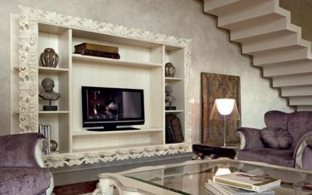 صور اشكال تصاميم مكتبات منزلية (3)