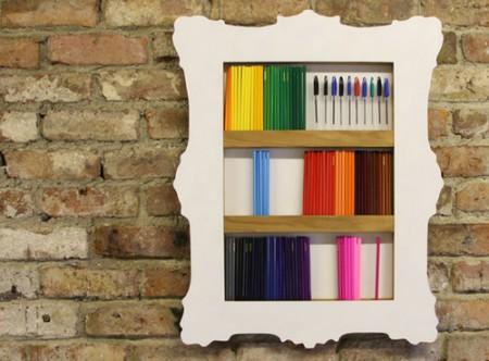 مكتبات مودرن منزلية شيك 2016 (1)