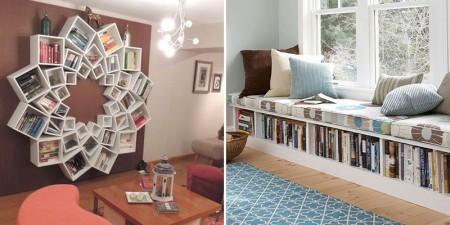 مكتبة منزل 2016 مودرن حديثة (2)