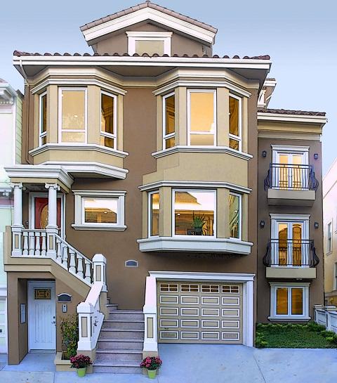 : واجهات منازل خليجية حديثة : منازل