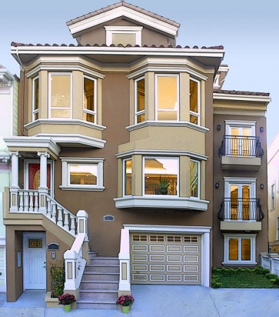 واجهات منازل فخمة وحديثة (2)