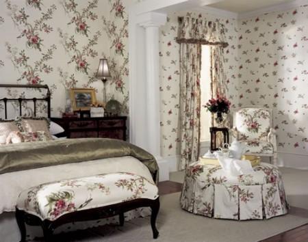 ورق حائط غرف نوم  (4)