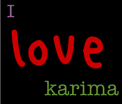 Karima اسم  (1)